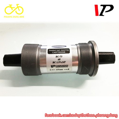 Trục giữa cốt vuông xe đạp MIDDUS VP-BC73 115mm