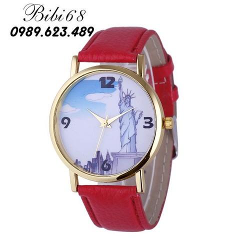 Đồng hồ nữ W10-Do màu đỏ giá tốt