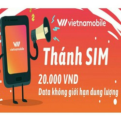 Thánh sim vietnamobile 10 số tặng 120gb data tốc độ cao miễn phí