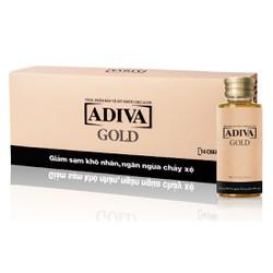 Collagen Adiva  GOLD Mới có HỒNG SÂM hộp 14 chai x 30ml
