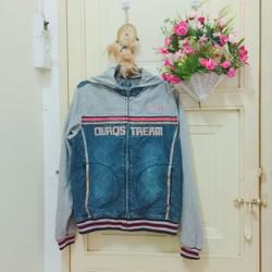 SECONDHAND Thanh lí áo khoác jean phối cotton siêu chất