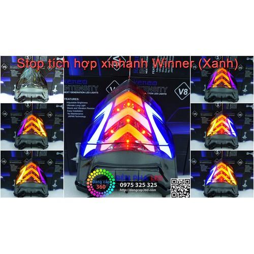 Đèn stop tích hợp xinhan Winner - đèn hậu winner - XANH
