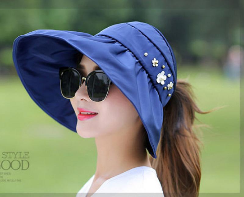 nón chống nắng, nón rộng vành, mũ chống nắng 360, mũ rộng vành 2
