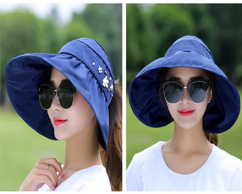 nón chống nắng, nón rộng vành, mũ chống nắng 360, mũ rộng vành 3