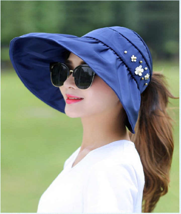 nón chống nắng, nón rộng vành, mũ chống nắng 360, mũ rộng vành 1