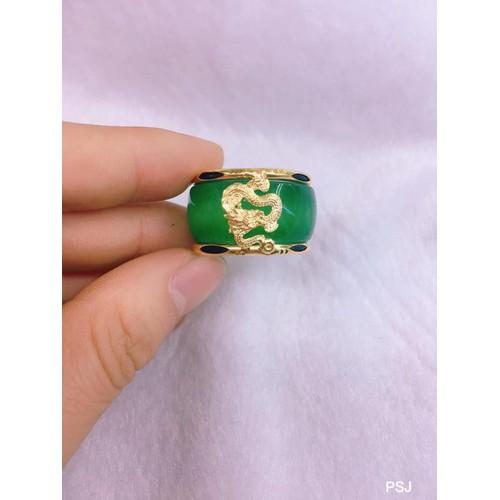 Nhẫn Ngọc chạm rồng
