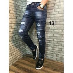 Quần Jeans Nam Wash đẹp cá tính