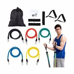Bộ dây đàn hồi tập thể hình cao cấp - dụng cụ tập gym