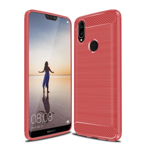 Ốp Lưng Huawei Nova 3e Chống Sốc Dẻo Màu Đỏ