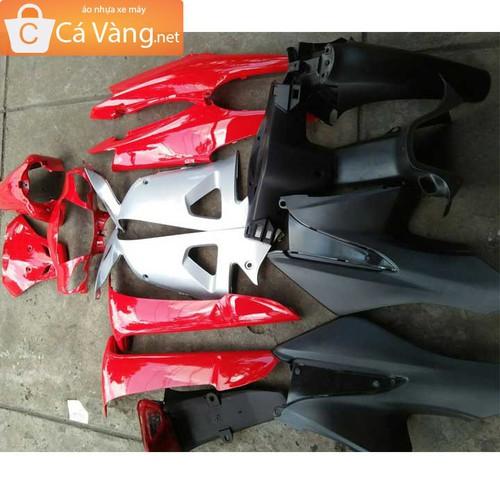 Dàn áo xe máy Wave RS, Wave anpha- nhựa TRẮNG cao cấp màu ĐỎ CỜ - 5549692 , 9337491 , 15_9337491 , 1040000 , Dan-ao-xe-may-Wave-RS-Wave-anpha-nhua-TRANG-cao-cap-mau-DO-CO-15_9337491 , sendo.vn , Dàn áo xe máy Wave RS, Wave anpha- nhựa TRẮNG cao cấp màu ĐỎ CỜ