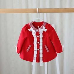 áo khoác bé gái kiểu Hàn 1- 4tuổi