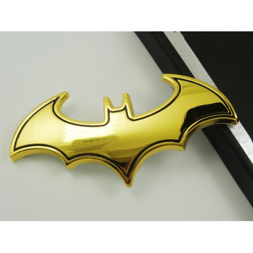 Logo 3D Batman trang trí xe ô tô