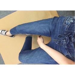 quần jean boy cạp chun