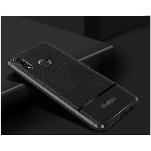 Ốp Lưng Armor Huawei Nova 3e Chống Sốc Dẻo Màu Đen