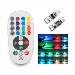 LED xi nhan xe máy – ô tô  điều khiển - bầu dục