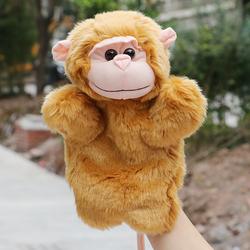 Rối bàn tay hình chú khỉ có đuôi đáng yêu phát triển trí tuệ cho bé