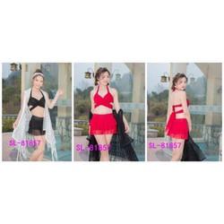 CHUYÊN SỈ: Bộ đồ bơi, bikini 3 chi tiết hàng Quảng Châu cao cấp