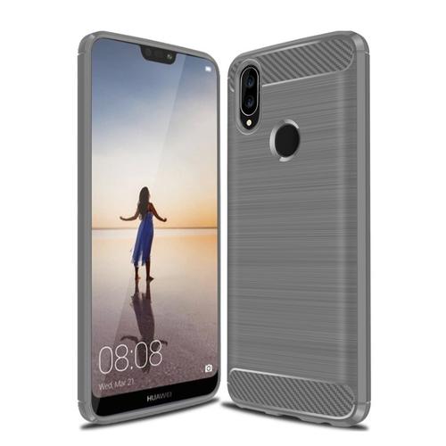 Ốp Lưng Huawei Nova 3e Chống Sốc Dẻo Màu Xám