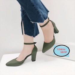 Giày cao gót vuông Việt Nam - VIMOA