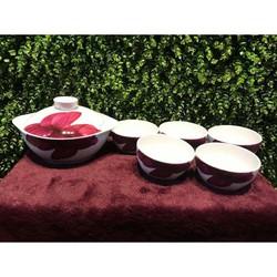 Bộ bàn ăn 6 món Gốm Sứ Cao Cấp DongHwa