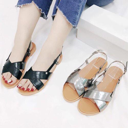 Giày sandal đế bệt nữ GBMS78