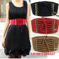 Thắt lưng nữ cao cấp, Dây nịt nữ đầm váy thời trang Hàn Quốc L12TL123