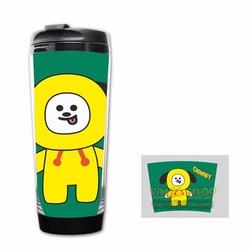Bình Nước BTS BT21 Chimmy- Jimin - Giữ Nhiệt, Giữ Lạnh