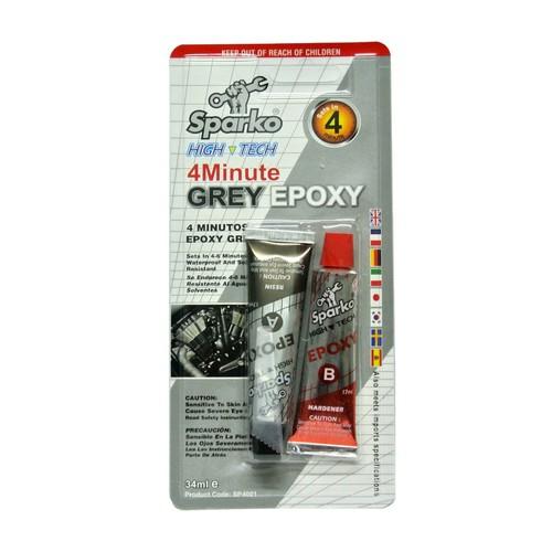 Keo AB Sparko xám 4 Minute Grey Epoxy - 4433271 , 9348965 , 15_9348965 , 45000 , Keo-AB-Sparko-xam-4-Minute-Grey-Epoxy-15_9348965 , sendo.vn , Keo AB Sparko xám 4 Minute Grey Epoxy