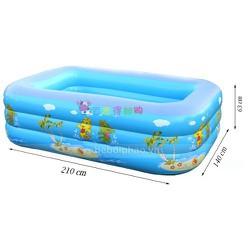 Bể bơi 210cm tặng keo và 2 miếng vá