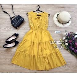 Đầm xòe viền ren cực Xinh