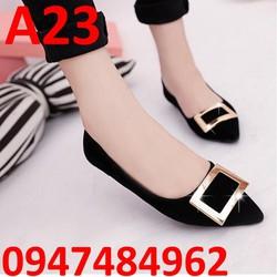 Giày búp bê nữ cực dễ thương A23