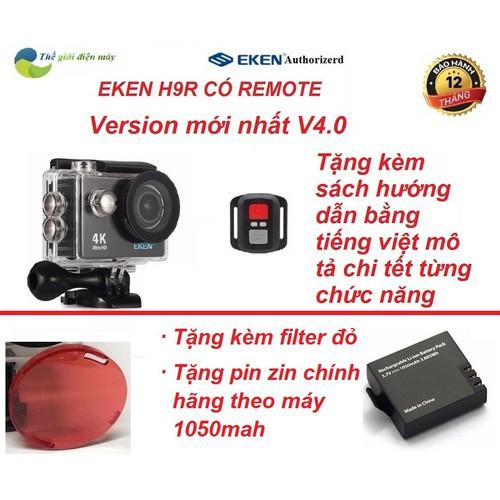Camera hành trình EKEN H9R 4K ver 6.0 wifi tặng kèm pin zin - 5551923 , 9343728 , 15_9343728 , 1129000 , Camera-hanh-trinh-EKEN-H9R-4K-ver-6.0-wifi-tang-kem-pin-zin-15_9343728 , sendo.vn , Camera hành trình EKEN H9R 4K ver 6.0 wifi tặng kèm pin zin