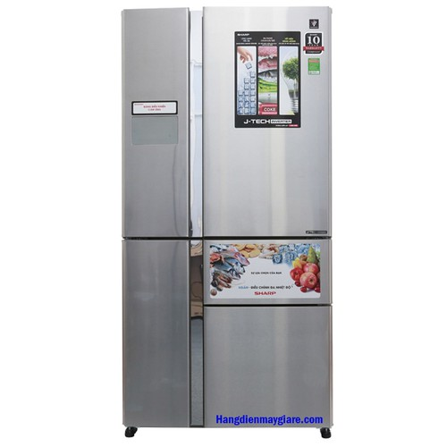 Tủ lạnh 4 cửa Sharp J-Tech InverterSJ-F5X76VM-SL 768 lít - 10607554 , 9364441 , 15_9364441 , 20299000 , Tu-lanh-4-cua-Sharp-J-Tech-InverterSJ-F5X76VM-SL-768-lit-15_9364441 , sendo.vn , Tủ lạnh 4 cửa Sharp J-Tech InverterSJ-F5X76VM-SL 768 lít