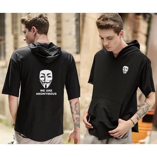 Áo Anonymous Short Hoodies