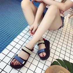dép nữ dép quai hậu sandal cài quai ngang