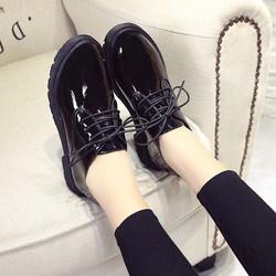 Giày oxford nữ da bóng