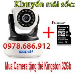 Camera IP Wi-Fi Siepem