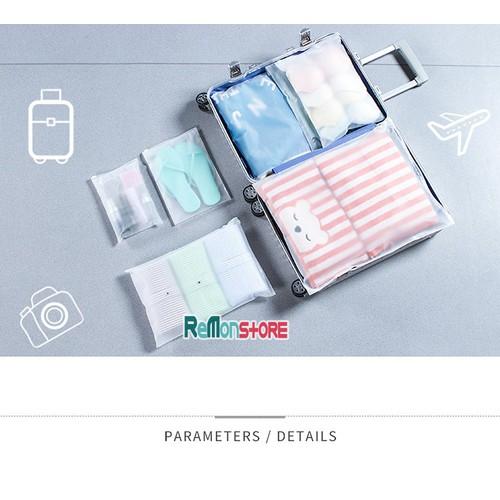 Bộ 8 túi đựng quần áo giày du lịch Chống Hôi và Ướt khóa zip dày - 5559322 , 9359559 , 15_9359559 , 108000 , Bo-8-tui-dung-quan-ao-giay-du-lich-Chong-Hoi-va-Uot-khoa-zip-day-15_9359559 , sendo.vn , Bộ 8 túi đựng quần áo giày du lịch Chống Hôi và Ướt khóa zip dày
