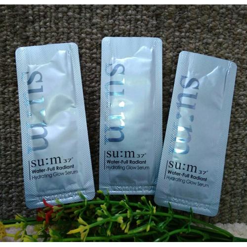 Combo 10 gói tinh chất dưỡng ẩm Sum37 Water Full Glow Serum