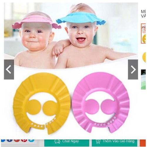 mũ gội đầu chống nước có bịt tai cho bé - 5564178 , 9370677 , 15_9370677 , 19000 , mu-goi-dau-chong-nuoc-co-bit-tai-cho-be-15_9370677 , sendo.vn , mũ gội đầu chống nước có bịt tai cho bé