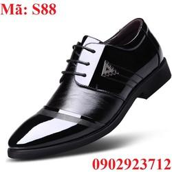 Giày Tây Nam Tăng Chiều Cao Thanh Lịch - S88