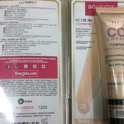 Kem nền BourjoisPerfect123CC Cream màu 32 32 Light Beige HSD 2020