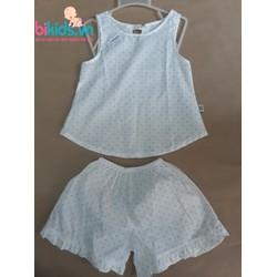 Bộ quần áo thô hoa nhí hè bé gái 1-7Y- BABY GAP