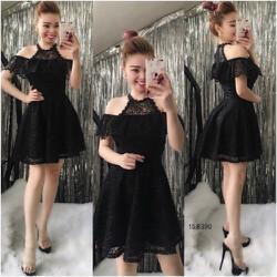 TiiT Shop - Đầm Ren Xòe Siêu Xinh BTD4