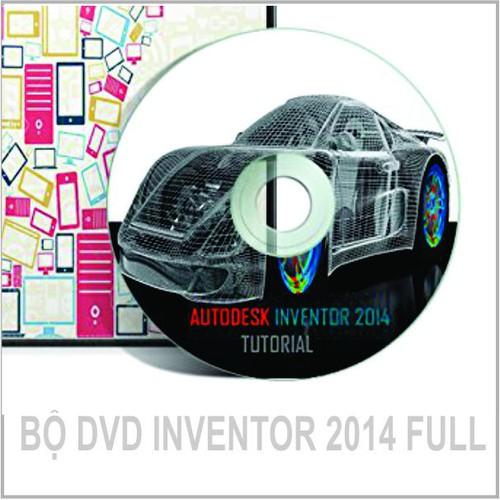 Bộ DVD INVENTOR Pro 2014 FULL