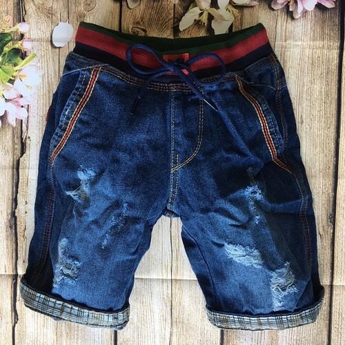 Quần short jean bé trai, quần ngăn bé trai 3 đến 12 tuổi