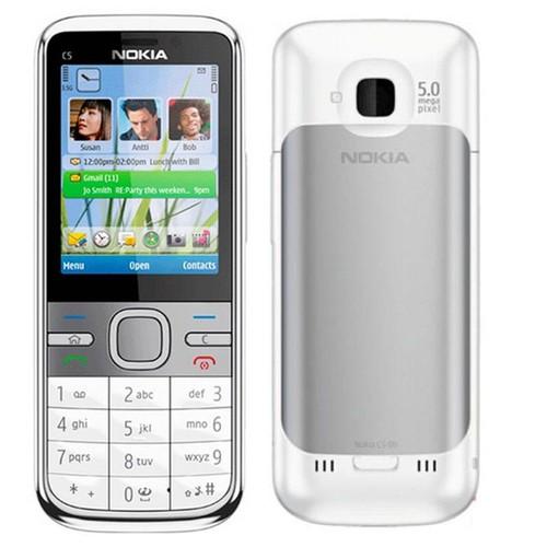 Điện Thoại Nokia C5-00 Trắng Chính Hãng