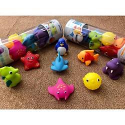 Đồ chơi 8 sinh vật biển phun nước Munchkin
