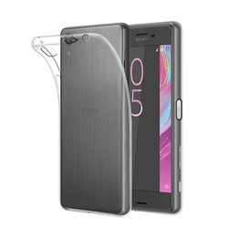 Ốp lưng dẻo silicon trong suốt sony Xperia X