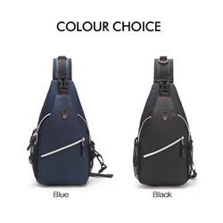 Túi đeo chéo du lịch màu xanh lam